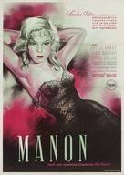 Manon - German Movie Poster (xs thumbnail)