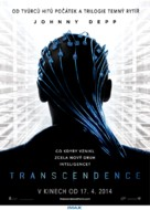 Transcendence - Czech Movie Poster (xs thumbnail)