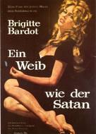 La femme et le pantin - German Movie Poster (xs thumbnail)