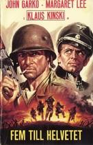 5 per l'inferno - Swedish Movie Cover (xs thumbnail)