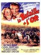Gold Is Where You Find It - French Movie Poster (xs thumbnail)