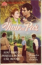 Vivere in pace - Spanish Movie Poster (xs thumbnail)