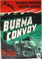 Burma Convoy - Swedish Movie Poster (xs thumbnail)