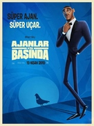 Spies in Disguise - Turkish Movie Poster (xs thumbnail)
