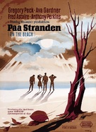 On the Beach - Danish Movie Poster (xs thumbnail)