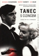 Dance with a Stranger - Czech DVD cover (xs thumbnail)