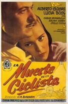 Muerte de un ciclista - Argentinian Movie Poster (xs thumbnail)