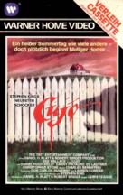 Cujo - German VHS movie cover (xs thumbnail)