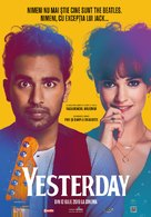 Yesterday - Romanian Movie Poster (xs thumbnail)