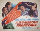 A Dangerous Profession - Movie Poster (xs thumbnail)