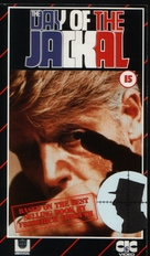 The Day of the Jackal - British VHS movie cover (xs thumbnail)