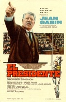 Le président - Spanish Movie Poster (xs thumbnail)