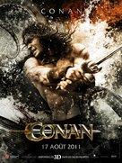 Conan the Barbarian - French Movie Poster (xs thumbnail)
