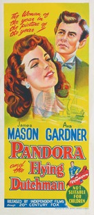 Pandora and the Flying Dutchman - Australian Movie Poster (xs thumbnail)