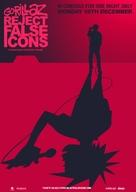 Gorillaz: Reject False Icons - British Movie Poster (xs thumbnail)