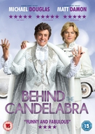 Behind the Candelabra - British DVD cover (xs thumbnail)