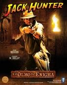 """Jack Hunter and the Lost Treasure of Ugarit"" - Brazilian Movie Poster (xs thumbnail)"