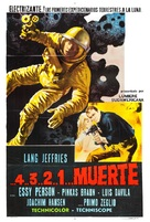 ...4 ...3 ...2 ...1 ...morte - Argentinian Movie Poster (xs thumbnail)