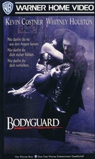 The Bodyguard - German VHS cover (xs thumbnail)