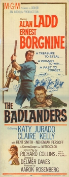 The Badlanders - Theatrical poster (xs thumbnail)