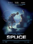 Splice - French Movie Poster (xs thumbnail)
