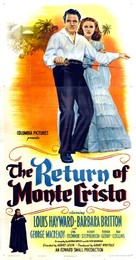 The Return of Monte Cristo - Movie Poster (xs thumbnail)