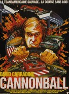 Cannonball! - French Movie Poster (xs thumbnail)