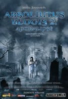Resident Evil: Apocalypse - Lithuanian Movie Poster (xs thumbnail)