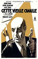 Cette vieille canaille - French Movie Poster (xs thumbnail)