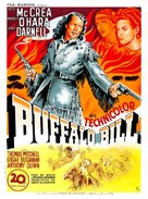 Buffalo Bill - French Movie Poster (xs thumbnail)