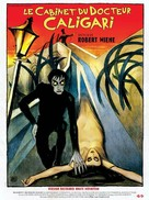 Das Cabinet des Dr. Caligari. - French Re-release poster (xs thumbnail)