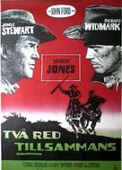 Two Rode Together - Swedish Movie Poster (xs thumbnail)