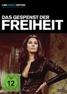 La fantôme de la liberté - German DVD movie cover (xs thumbnail)