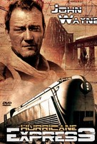 The Hurricane Express - German DVD cover (xs thumbnail)