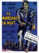 He Walked by Night - French Movie Poster (xs thumbnail)