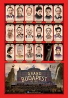 The Grand Budapest Hotel - Portuguese Movie Poster (xs thumbnail)