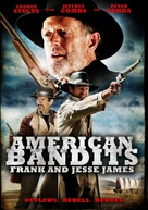 American Bandits: Frank and Jesse James - DVD movie cover (xs thumbnail)