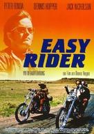 Easy Rider - German Movie Poster (xs thumbnail)