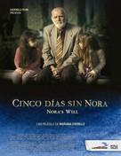 Cinco días sin Nora - Mexican Movie Poster (xs thumbnail)