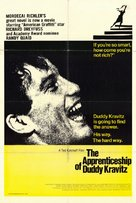 The Apprenticeship of Duddy Kravitz - Canadian Movie Poster (xs thumbnail)