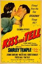 Kiss and Tell - Movie Poster (xs thumbnail)
