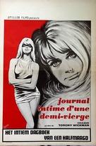 Eva - den utstötta - Belgian Movie Poster (xs thumbnail)