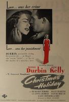Christmas Holiday - poster (xs thumbnail)