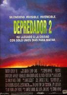 Predator 2 - Spanish Movie Poster (xs thumbnail)