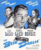 The Blue Dahlia - poster (xs thumbnail)