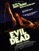 The Evil Dead - Spanish Movie Poster (xs thumbnail)