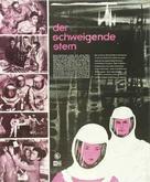 Der schweigende Stern - German poster (xs thumbnail)