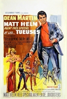 The Silencers - Belgian Movie Poster (xs thumbnail)