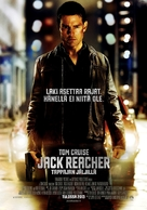 Jack Reacher - Finnish Movie Poster (xs thumbnail)