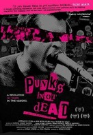 Punk's Not Dead - poster (xs thumbnail)